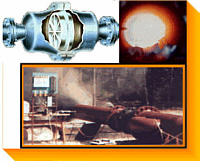 NAO Flame / Detonation Arresters (Arrestors) - Standard, Stock, Custom & Specials - Stainless Steel & Alloys - Testing - UL & Coast Guard - Liquid Seal Drums - Controls - Fire Snuffing - Cooling Systems