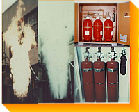 Venting & Fire Suppression Systems - Flame Snuffing; Dry Chemical, Carbon Dioxide, Dry Powder, Water Spray,  Steam - Manual / Automatic Controls - Standard, Custom, Special Parts & Systems