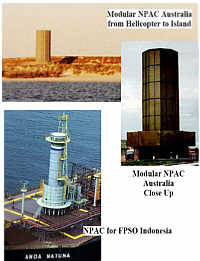 Modular & Circular NPAC Units (ENCLOSED FLARES) -- Island in Australia to protect turtle breeding, FPSO (production ship) in Indonesia