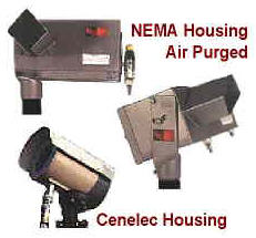 NAO IR Optical Sensors -- NEMA and CENELEC Housings  Control of smokeless operation, complete combustion & pilot status / re-ignition