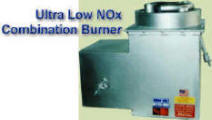 Ultra Low NOx Combination Burner -- Gas and Oil Firing