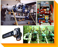 Process / Regulating Valves/ Control Skids / Piping Trains for Biofuels, Burners,  Combustion, Flares (Open, Energency, Enclosed TYPES), Thermal Oxidizer Applications - Linear Trims, Quick Shutoff, Special Materials ISO-9001 Certified Manufacturer with 98 Years Experience