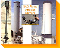 Fume Oxidizers, Incinerators, Vapor Control & Vapor Oxidizers - Fixed, Skid, Portable & Trailer Units - Vertical / Horizontal with or without Scrubbers & Heat Recovery