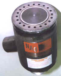 NAO Flame Arrestor Burner with Air Jacket for Complete Combustion & Cooling of Arrestor